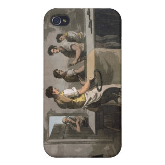 Cloth Dressers, from `Costume of Yorkshire' engrav Covers For iPhone 4