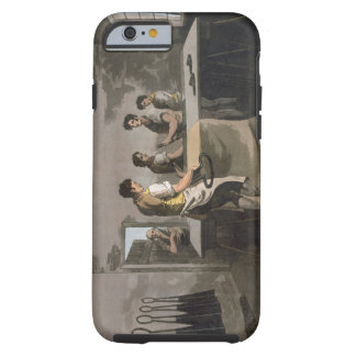 Cloth Dressers, from `Costume of Yorkshire' engrav Tough iPhone 6 Case