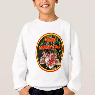Cloth Hibiscus Happy Mother Day 2 o The MUSEUM Zaz Sweatshirt