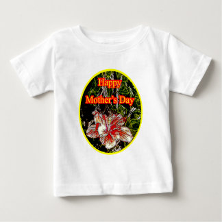 Cloth Hibiscus Happy Mother Day o Yellow The MUSEU Shirts