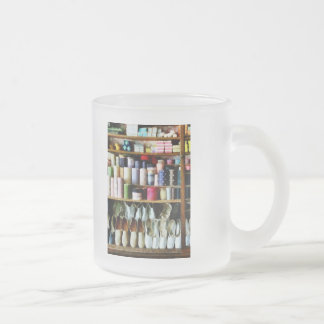 Cloth in General Store Frosted Glass Coffee Mug