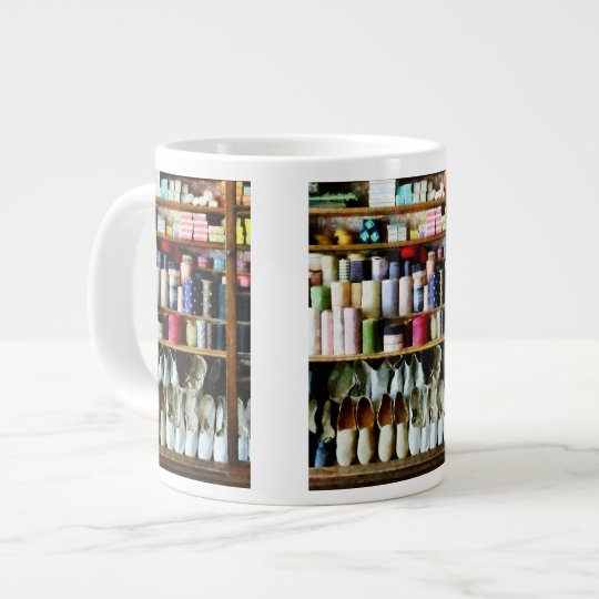 Cloth in General Store Large Coffee Mug