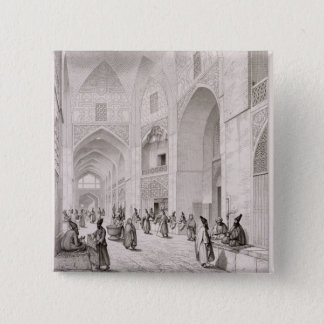 Cloth Market, in Isfahan, from 'Voyage Pittoresque Button