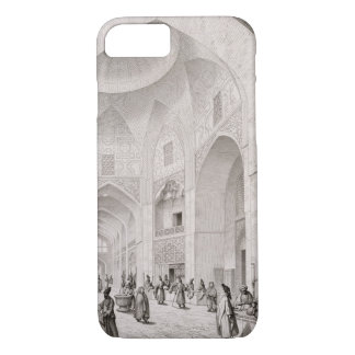 Cloth Market, in Isfahan, from 'Voyage Pittoresque iPhone 7 Case