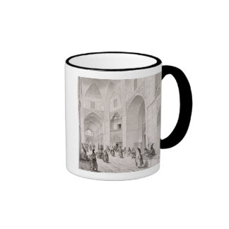 Cloth Market, in Isfahan, from 'Voyage Pittoresque Ringer Coffee Mug