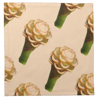 Cloth Napkin - Beehive Ginger