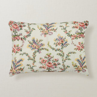 Cloth woven for Queen Marie Antoinette at the Pala Accent Pillow