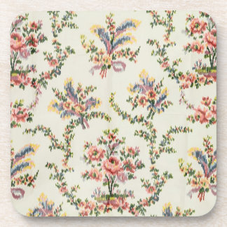 Cloth woven for Queen Marie Antoinette at the Pala Beverage Coaster