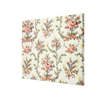 Cloth woven for Queen Marie Antoinette at the Pala Canvas Print