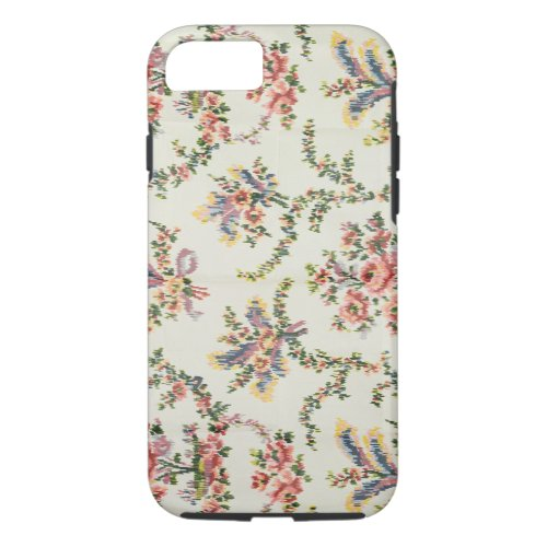Cloth woven for Queen Marie Antoinette at the Pala Phone Case