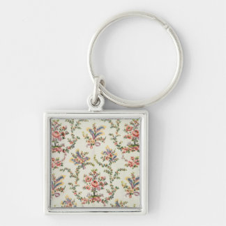 Cloth woven for Queen Marie Antoinette at the Pala Key Chains