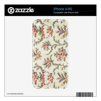 Cloth woven for Queen Marie Antoinette at the Pala Decal For The iPhone 4