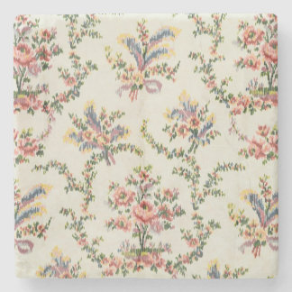 Cloth woven for Queen Marie Antoinette at the Pala Stone Coaster