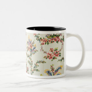 Cloth woven for Queen Marie Antoinette at the Pala Two-Tone Coffee Mug
