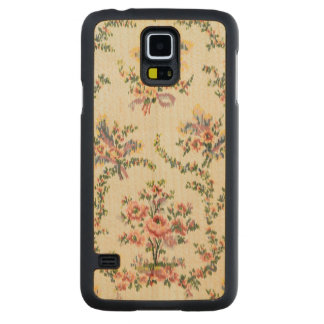 Cloth woven for Queen Marie Antoinette at the Pala Carved® Maple Galaxy S5 Slim Case