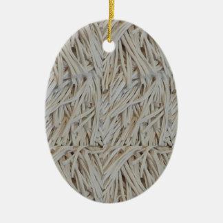 Clothe Fringe Art Fabric Strings fashion garments Ceramic Ornament