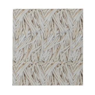 Clothe Fringe Art Fabric Strings fashion garments Notepad