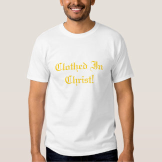 Clothed In Christ by Joseph James (Hartmann) T Shirt