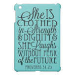 Clothed in Strength & Dignity iPad Mini Covers