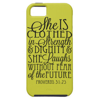 Clothed in Strength & Dignity iPhone SE/5/5s Case