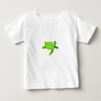Clothes-Baby T-Shirt-Animals-Turtle Baby T-Shirt