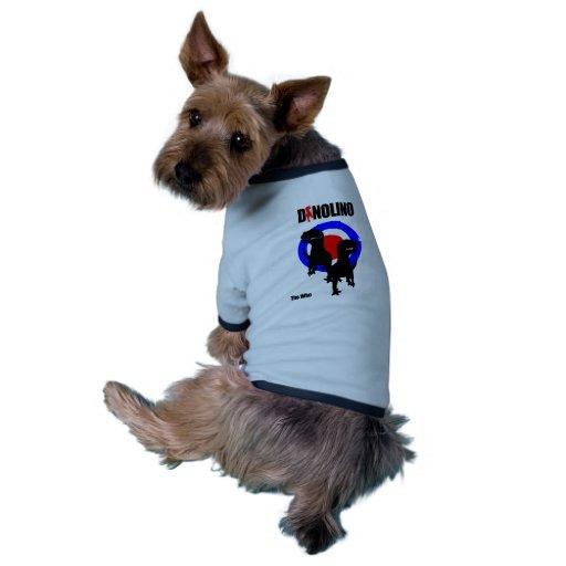 Clothes for PET! Dinolino Underground Saury Dog Tshirt