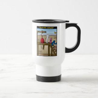 """Clothes Hanger"" Travel Mug"
