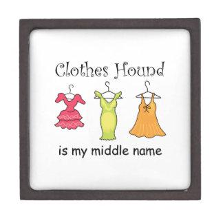 Clothes Hound Premium Keepsake Box