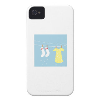 Clothes Line iPhone 4 Cover