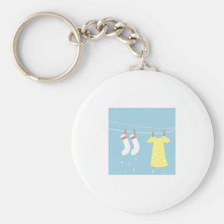 Clothes Line Keychains