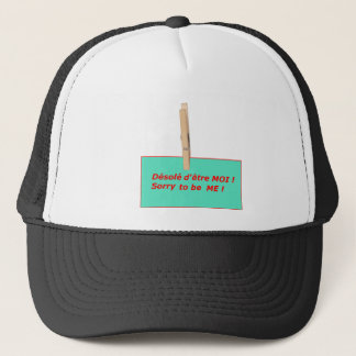 CLOTHES PEG BEING ME TO BE ME 1.PNG TRUCKER HAT