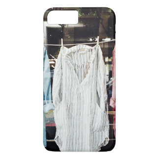Clothes Themed, Hanging Colorful Shirts In Vintage iPhone 8 Plus/7 Plus Case