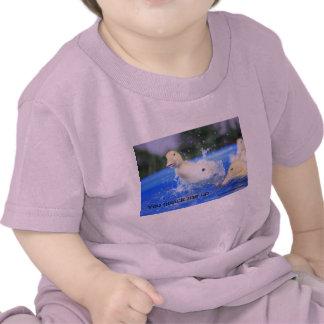 "Clothes-Toddler T-shirt ""You quack me up""."