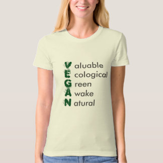 Clothes with Vegan Design T-Shirt