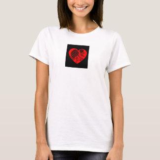 Clothes-Women-Art of Love-Dahlia Heart T-Shirt