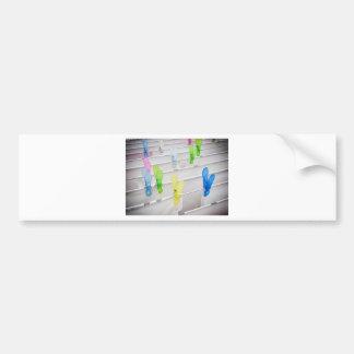 Clothesline Bumper Sticker