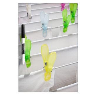 Clothesline Dry Erase Board
