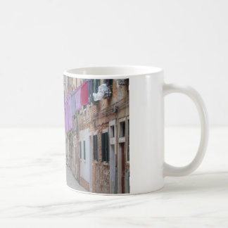Clothesline In Venice Italy Coffee Mug