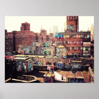 Clotheslines and Graffiti, Medium Print