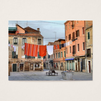 Clotheslines At Campo Ruga Business Card