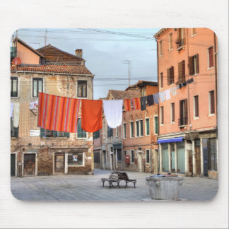 Clotheslines At Campo Ruga Mouse Pad