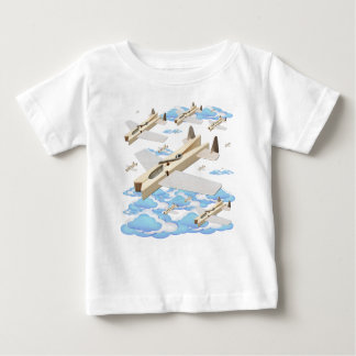 Clothespin Airplanes Infant T-shirt