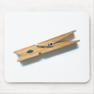 clothespin mouse pad