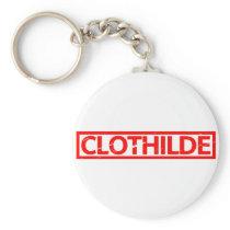 Clothilde Stamp Keychain
