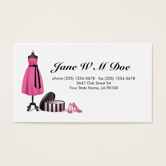 Business card alterations best business cards for Fashion business card template