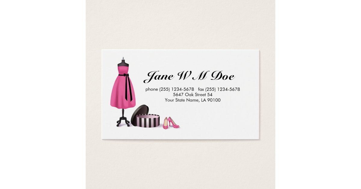 Clothing Alteration Services Business Card | Zazzle.com