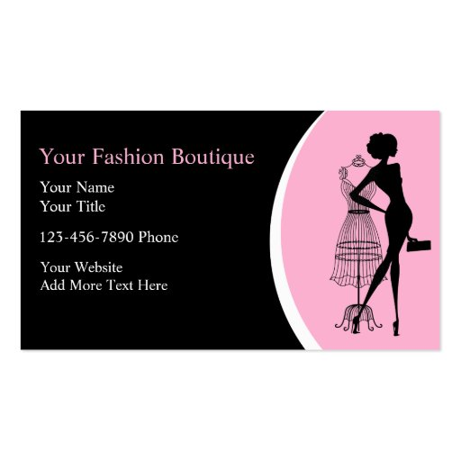 Clothing Boutique Business Cards