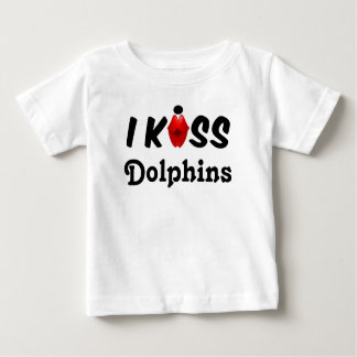 Clothing Children I Kiss Dolphins Baby T-Shirt