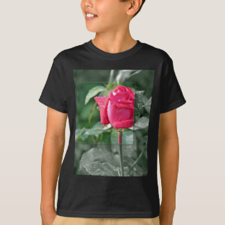 CLOTHING Flowers by the Lake - Red Rose T-Shirt