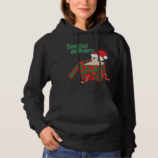 Clothing for expectant mother for christmas hoodie